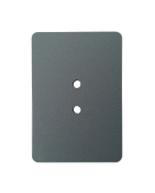 "3.5""x5"" Flat Rect. Hand Hole Cover - Std. Install - GREY"